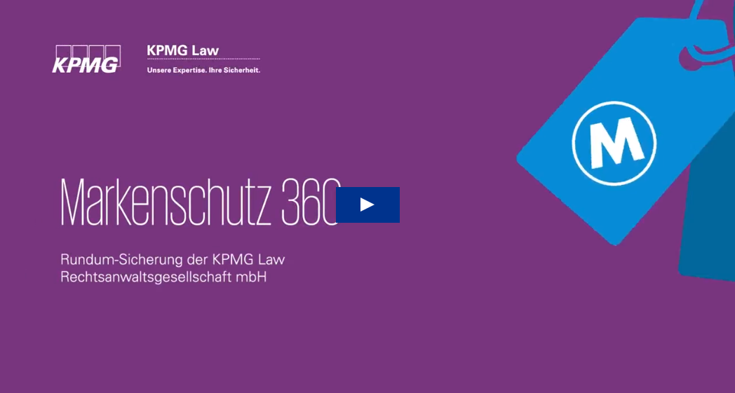 Video KPMG Law Markenschutz